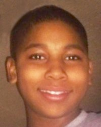 A photograph of Tamir Rice