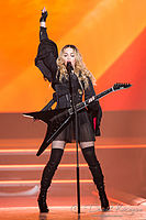 Madonna performing during the Rebel Heart Tour, 2015