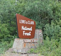 Lewis and Clark National Forest