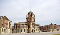 New College buildings at Royal Military Academy Sandhurst