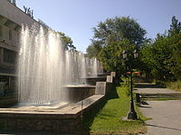 Fountains near the Central Department store (ЦУМ)