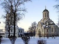 Spassky Cathedral (Moscow's oldest extant building), built c. 1357