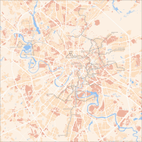 Tram map of Moscow