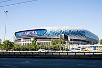 VTB Arena, home of FC Dynamo Moscow and HC Dynamo Moscow