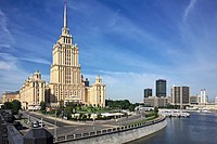 One of the Seven Sisters, Hotel Ukraina, is the tallest hotel in Europe, and one of the tallest hotels in the world