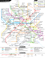 Moscow Metro route map with planned stations