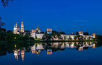 Novodevichy Convent is a World Heritage Site.