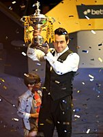 O'Sullivan after winning his fifth world title in 2013