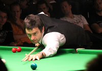 O'Sullivan during the 2011 Paul Hunter Classic