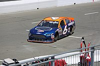 Derek Thorn drove the No. 6 car to two championships in 2013 and 2018. Here, he is seen driving at Sonoma in 2018.