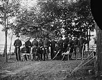 General William H. French and staff in September 1863
