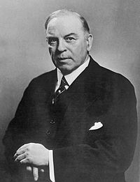 Prime Minister of Canada William Lyon Mackenzie King in 1947.