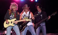 Poison seen here in 2008, were among the most successful acts of the 1980s glam metal era