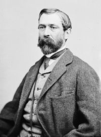 Confederate General Richard Taylor opposed Banks in Louisiana.