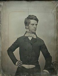 Banks in 1852, portrait by Southworth and Hawes