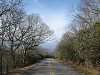 Road to Brasstown Bald
