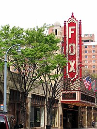 The Fox Theatre in Midtown Atlanta, centerpiece of the Historic District