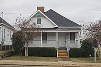 """Nat """"King"""" Cole Birthplace on the campus of Alabama State University in Montgomery"""