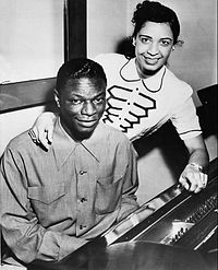 Cole and his second wife, Maria, 1951