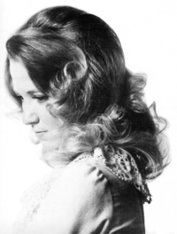 Tucker in a 1973 promotional portrait for Columbia Records.