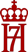 The King's monogram became a symbol of resistance during the Second World War