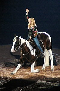 Crow at the Houston Livestock Show and Rodeo in 2007