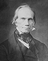 Henry Clay, a founder of the Whig Party in the 1830s and its 1844 presidential nominee