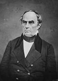 Daniel Webster, a leading Whig from New England