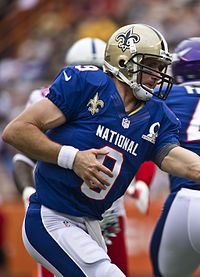 Brees at the 2013 Pro Bowl