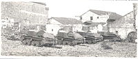 Type 92 Heavy Armoured Cars near Nanjing, 1941