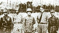 Free Thai, American and Chinese military officers in China during the war