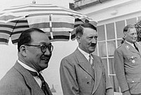 H. H. Kung and Adolf Hitler in Berlin