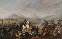 The Battle of Marengo was Napoleon's first great victory as head of state.