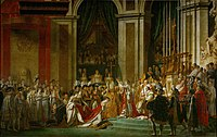 The Coronation of Napoleon by Jacques-Louis David (1804)