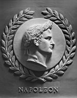 Bas-relief of Napoleon in the chamber of the United States House of Representatives