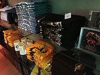 Game of Thrones merchandise in HBO's New York City store