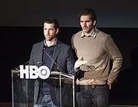 Showrunners D. B. Weiss and David Benioff created the series, wrote most of its episodes and directed several.