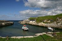 Ballintoy Harbour was Lordsport on the Iron Islands.