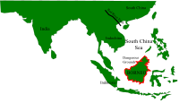 Geological history of Borneo