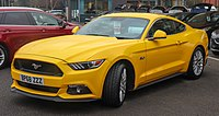 Sixth generation Ford Mustang GT (export model)