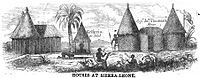 Houses at Sierra-Leone (May 1853, X, p.55)
