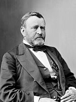 Ulysses S. Grant was the first Republican president to serve for two full terms (1869–1877)