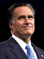 2012 Republican presidential nominee Mitt Romney was the first Mormon nominated for president by either major party
