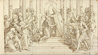 The coronation of Charlemagne on Christmas of 800 helped promote the popularity of the holiday