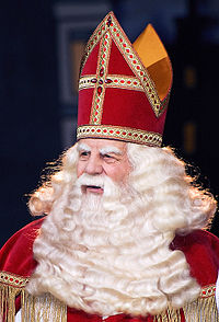 Saint Nicholas, known as Sinterklaas in the Netherlands, is considered by many to be the original Santa Claus