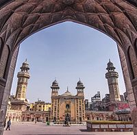Lahore's Wazir Khan Mosque is considered to be the most ornate Mughal-era mosque.<ref>{{cite book |last=Dani |first=A. H. |date=2003 |chapter=The Architecture of the Mughal Empire (North-Western Regions) |editor-last1=Adle |editor-first1=Chahryar |editor-last2=Habib |editor-first2=Irfan |editor2-link=Irfan Habib |title=History of Civilizations of Central Asia |volume=Volume V: Development in contrast: from the sixteenth to the mid-nineteenth century |chapter-url=http://unesdoc.unesco.org/images/0013/001302/130205e.pdf |publisher=UNESCO |page=524 |isbn=978-92-3-103876-1}}</ref>