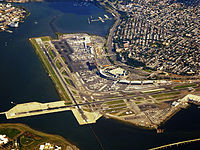 A multibillion-dollar reconstruction of LaGuardia Airport was announced in July 2015.