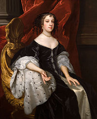 Catherine of Braganza, former Queen of England