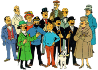 List of The Adventures of Tintin characters