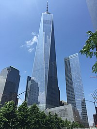 One World Trade Center, the New York headquarters of the company
